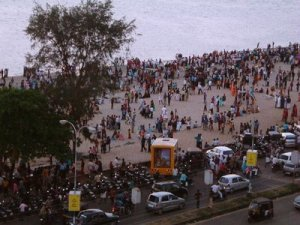 Calicut Beach onEid Day